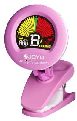 Joyo JMT-01 PK - tuner/metronom z kolorowym wyświetlaczem