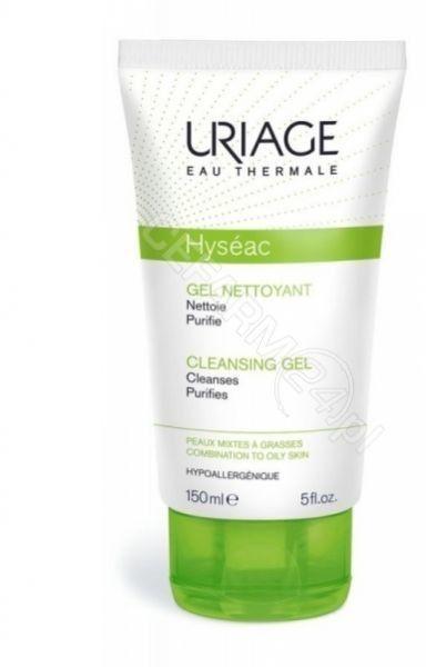 Uriage Hyséac Cleansing Gel żel oczyszczający do skóry tłustej i mieszanej 150 ml + do każdego zamówienia upominek.