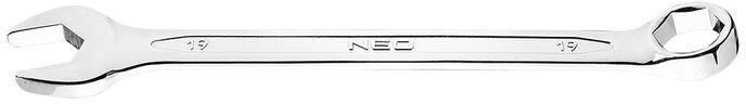 Klucz płasko-oczkowy HEX/V 19 x 230 mm 09-419