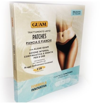 GUAM Fir Patches Plastry Modelujące Talię 8szt