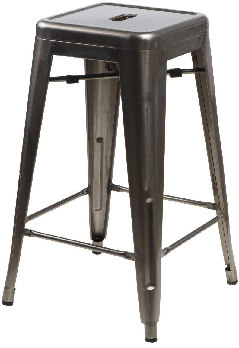 D2 Hoker Paris 75cm metal insp. Tolix