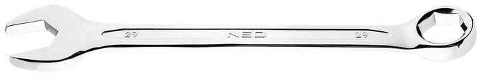 Klucz płasko-oczkowy HEX/V 29 x 340 mm 09-429