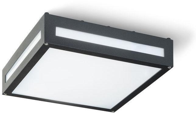 Lampa spot sufitowa PLAKA czarna 230V E27 2x26W IP54 R10359 Redlux  SPRAWDŹ RABATY  5-10-15-20 % w koszyku