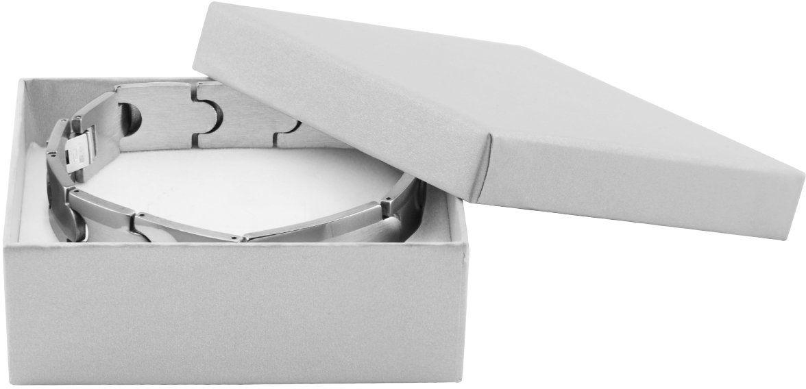 Bransoletka ze stali szlachetnej 316 L z eleganckimi łączeniami Grawer