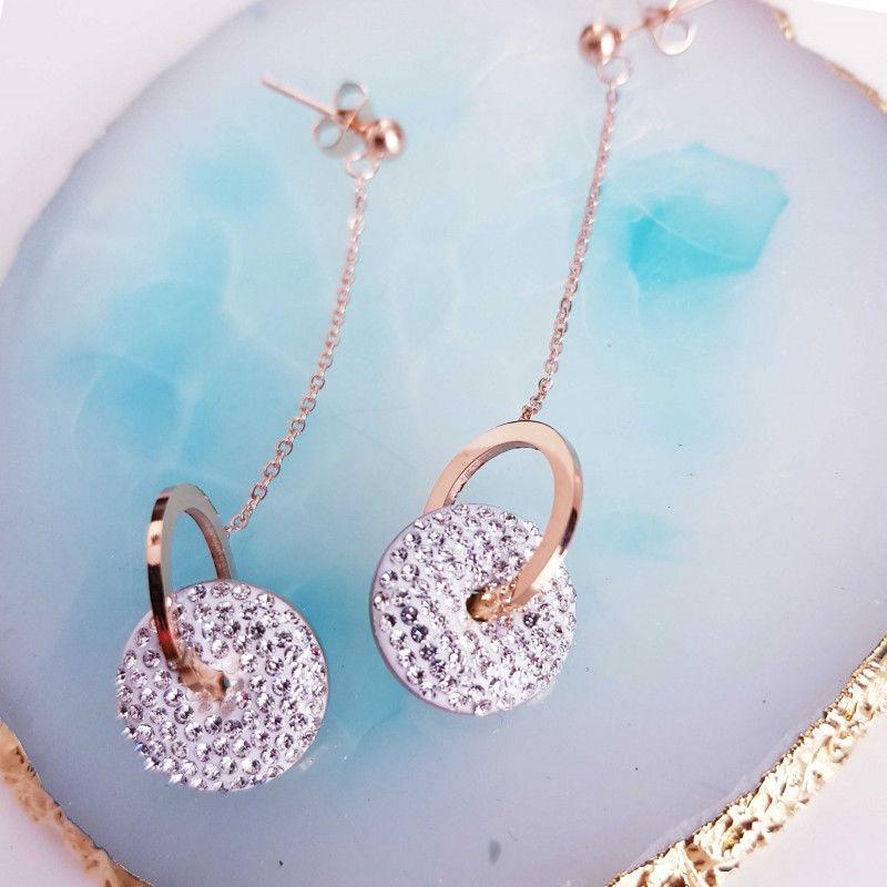Kolczyki złote eleganckie Beauty Senses BS001511