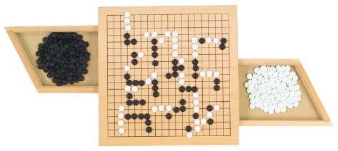 goki 56916 Go gra planszowa z wysuwanymi przegródkami