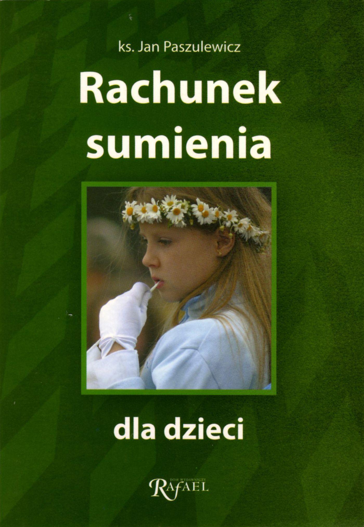 Rachunek sumienia dla dzieci - ks. Jan Paszulewicz - ebook
