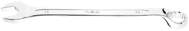 Klucz płasko-oczkowy odgięty spline 32 mm 09-482