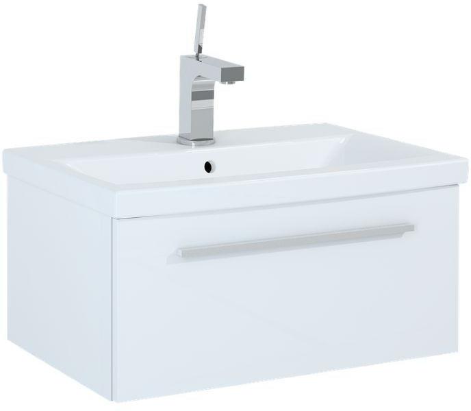 Szafka z umywalką 60 Kwadro Slim White Elita (165806 + 22052008)