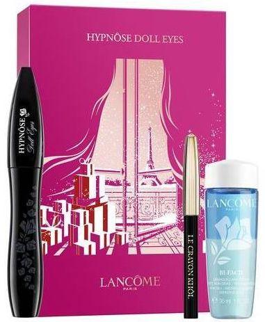 Lancome Hypnose Doll Eyes Mascara + Bi Facil + Mini Eye Pencil ZESTAW