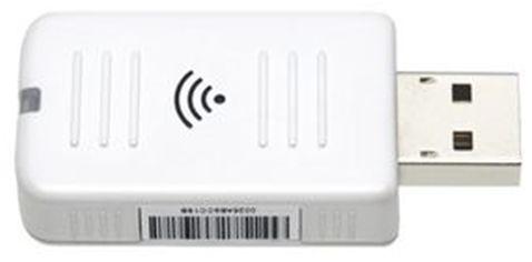 Epson ELPAP10 adapter USB WLAN IEEE 802.11 b/g/n PC i MAC z audio