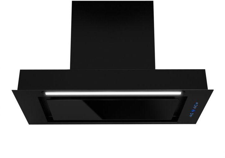 Okap podszafkowy Micra Black Matt 59,5 cm