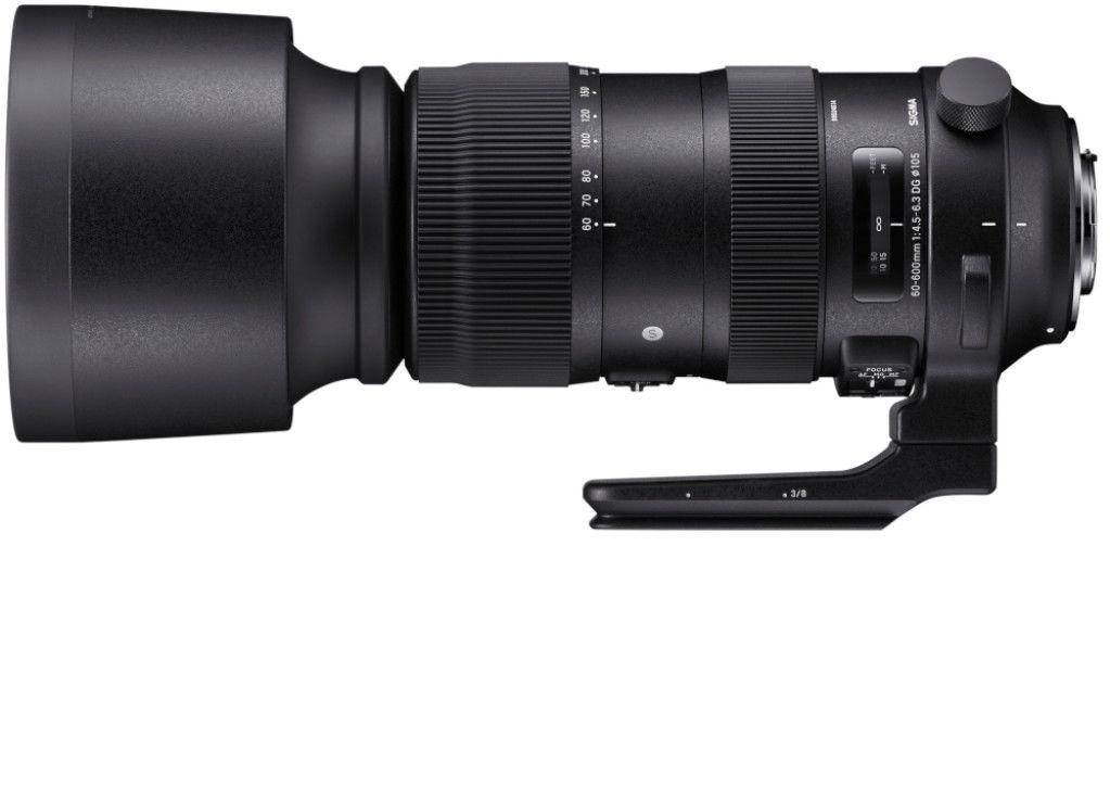Obiektyw Sigma 60-600 mm f/4.5-6.3 S DG OS HSM Canon Filtr Marumi UV 105mm RATY 0%
