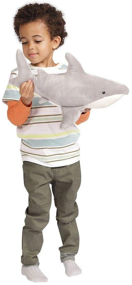 Pluszak Rekin Snarky Velveteen 160180-Manhattan Toy, maskotki dla dzieci