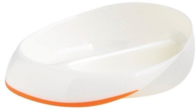 Mastrad - pierwszy talerzyk dziecka - pomarańczowy