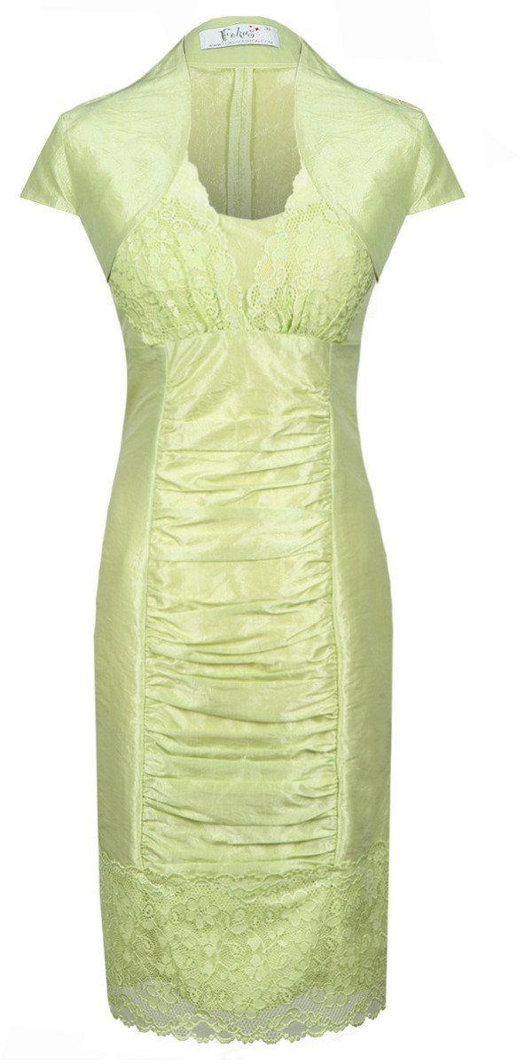 Sukienka FSU178 ZIELONY