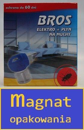 BROS Elektrofumigator na mrówki, muchy i komary + płyn 40 ml