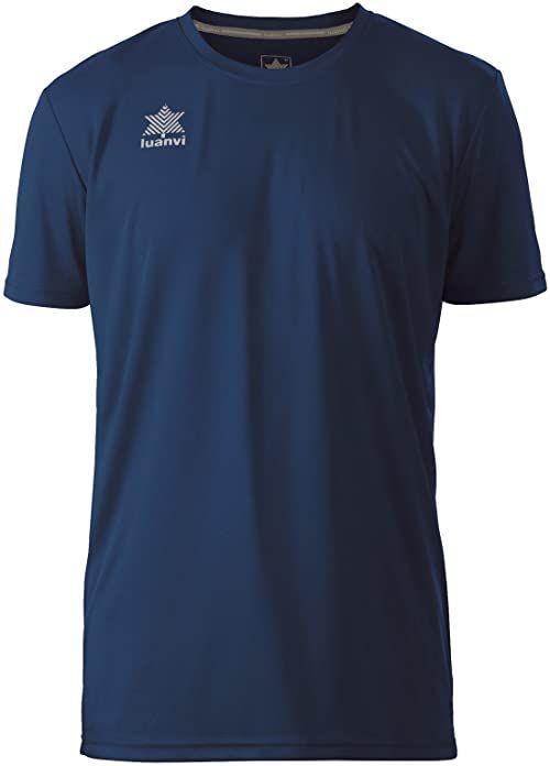 Luanvi Pol koszulka męska z krótkim rękawem XS granatowa