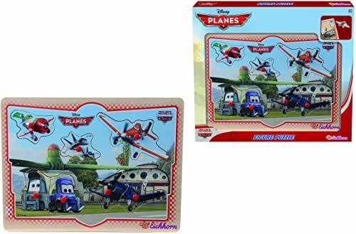 Eichhorn 100003251 - Planes Figurki Puzzle