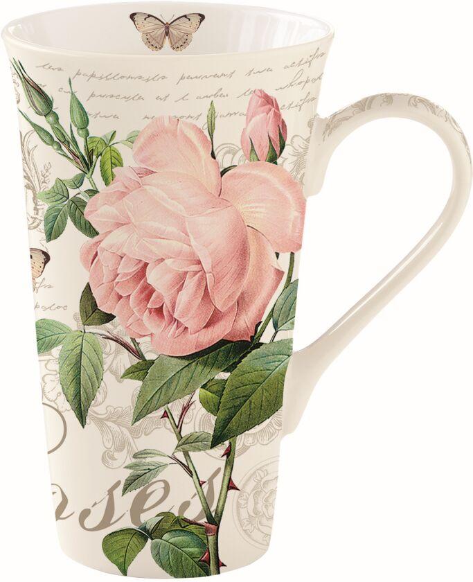 Easy Life/R2S, kubek 600ml - Jardin Botanique, róże