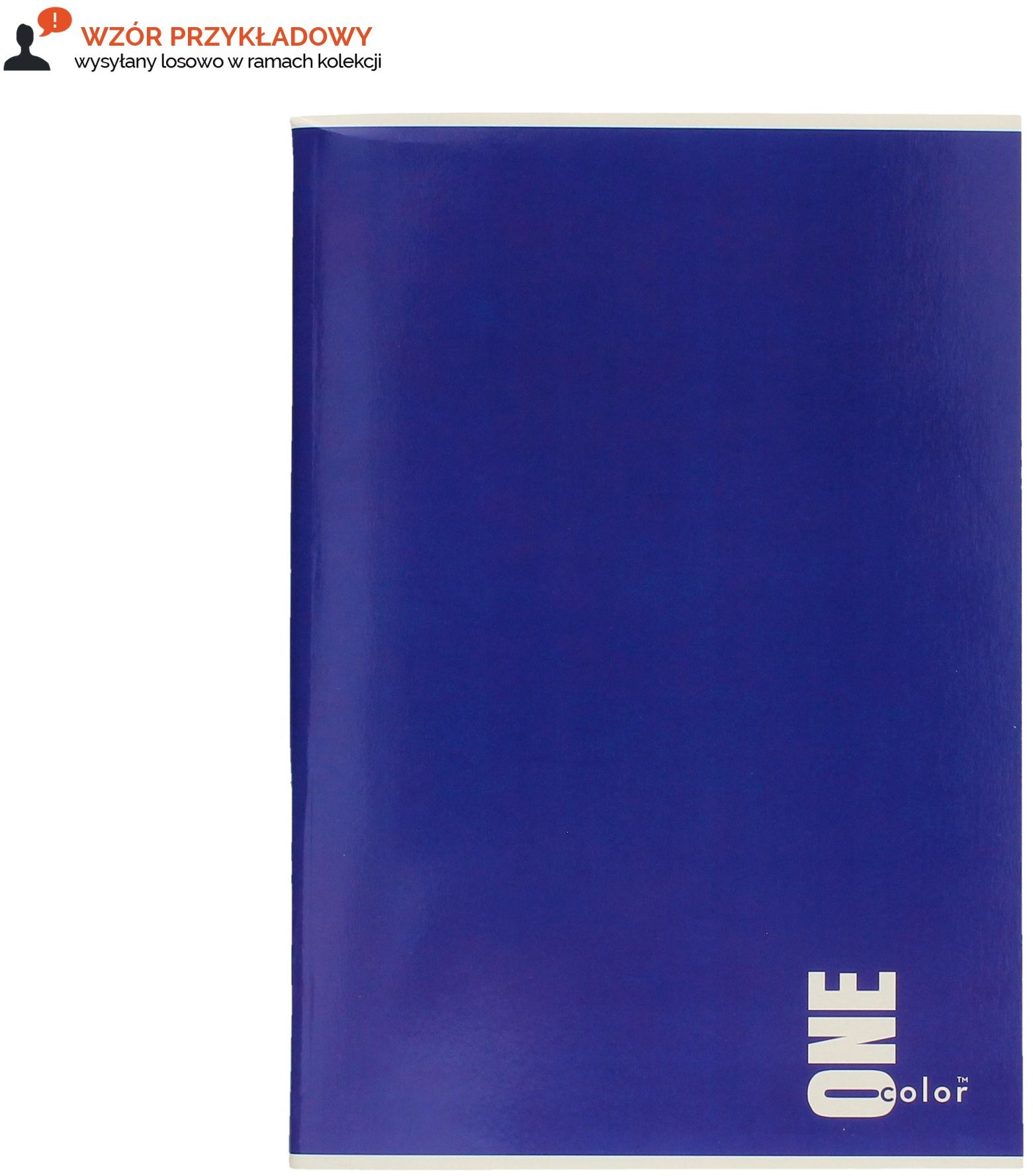 Zeszyt A4/96 kratka UV One Color Interdruk