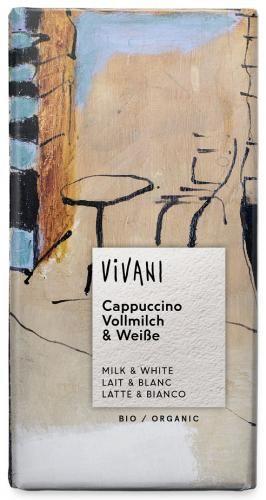 Czekolada cappuccino BIO 100g Vivani