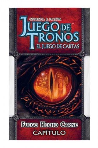 Edge Entertainment Game of Thrones LCG: ogień wykonany mięso - kolor hiszpański PC3-12GGOT104