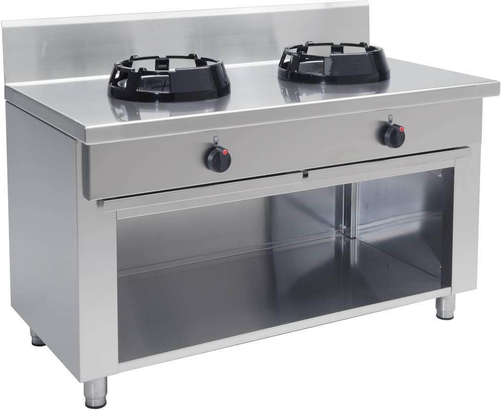 Kuchnia wok gazowa 2 palnikowa 28000W