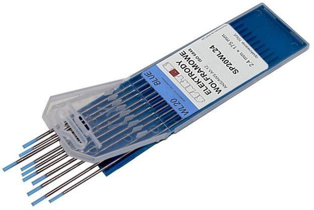 Elektroda wolframowa WL20 2,4x175 niebieska