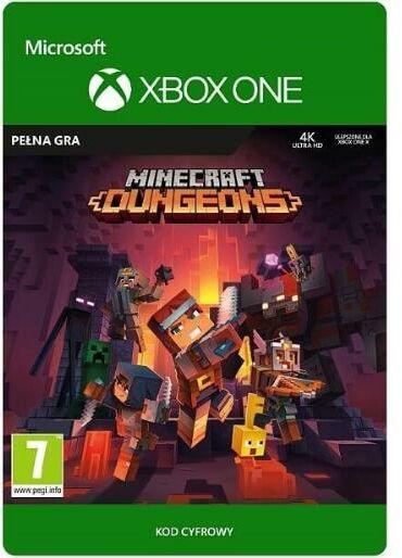 Minecraft Dungeons [kod aktywacyjny] Xbox One Dostęp po opłaceniu zakupu