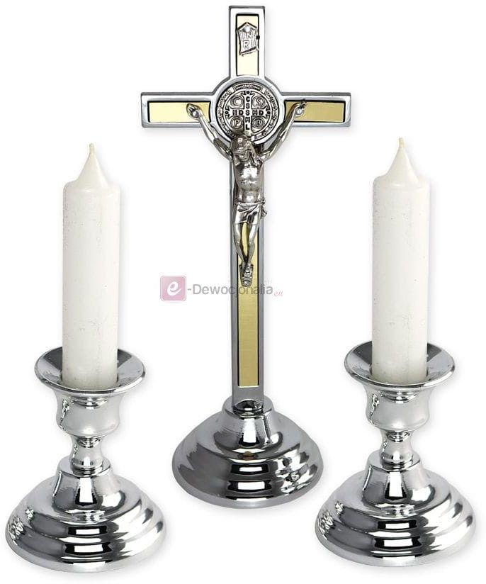 Komplet kolędowy Benedyktyński - złoty