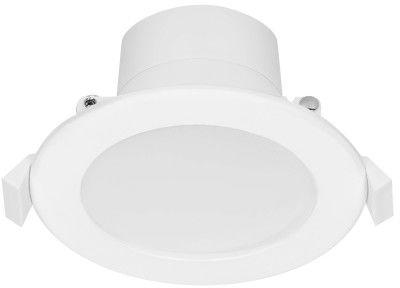 AURA LED 7W, oprawa downlight, podtynkowa, 560lm, 4000K, biała, wbudowany zasilacz LED
