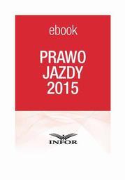 Prawo Jazdy 2015 - Ebook.