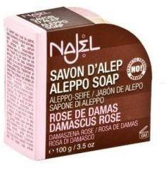 Mydło Aleppo Róża Damasceńska 100g NAJEL
