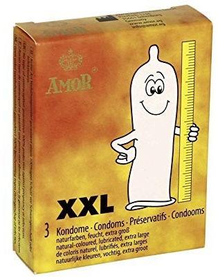Długie prezerwatywy Amor XXL 3 szt. 501503