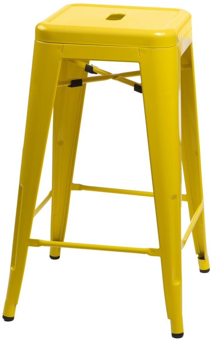 D2 Hoker Paris 75cm żółty insp. Tolix