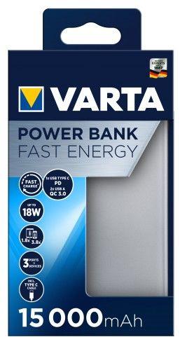 Varta powerbank Fast Energy 15 000 mah 57982