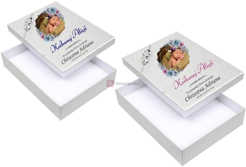 Ekskluzywne pudełeczko z nadrukiem UV - prezent zdjęcie dziecka