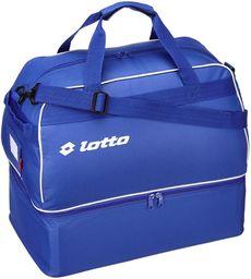 Lotto Sportowa torba chłopięca Bag Soccer Omega JR, royal/white, 1 l, Q8596