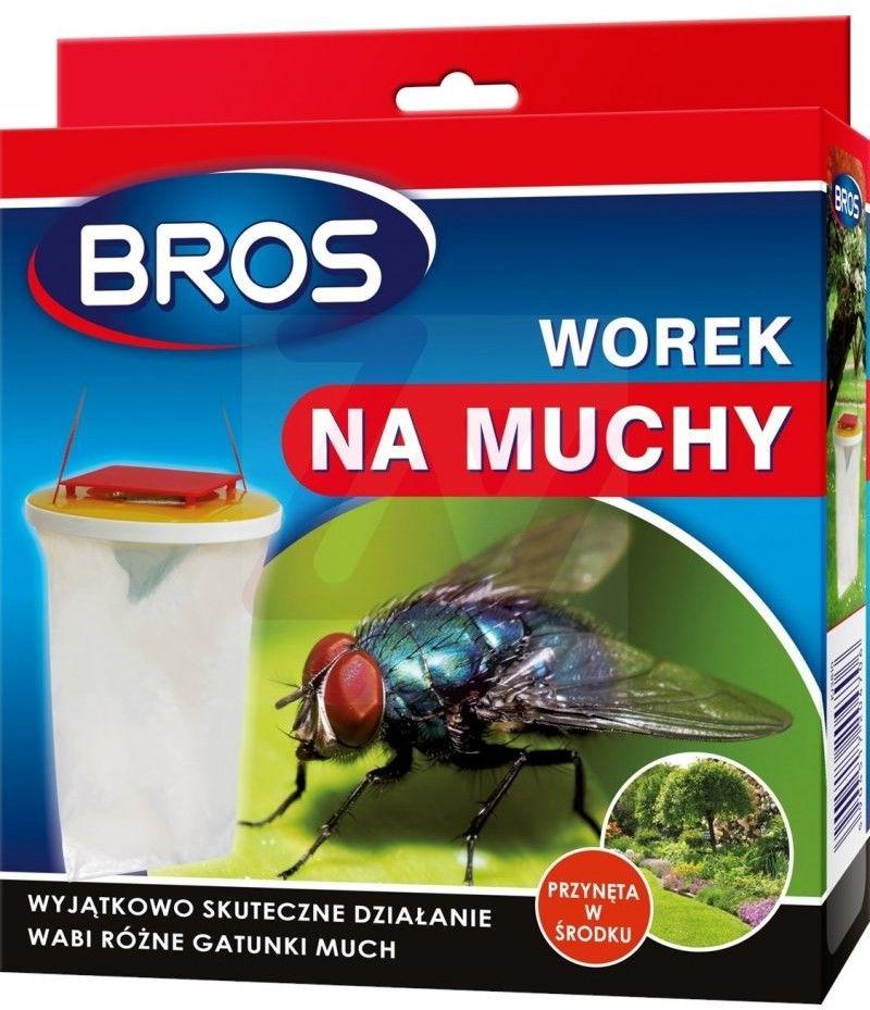 BROS Worek na muchy z przynętą