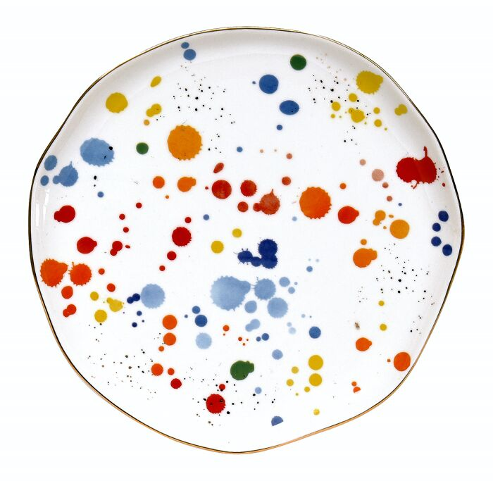 Easy Life/R2S, talerz deserowy - Colour Splash, plamki