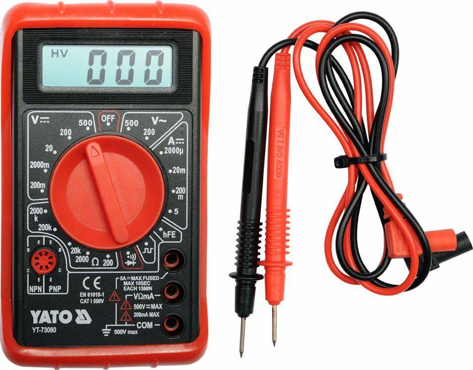 Multimetr/miernik cyfrowy, buzer Yato YT-73080 - ZYSKAJ RABAT 30 ZŁ