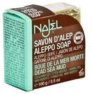 Mydło Aleppo z Błotem z Morza Martwego 100g NAJEL
