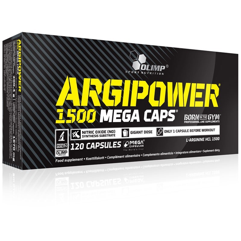 OLIMP Argi Power 1500 Mega Caps 120caps