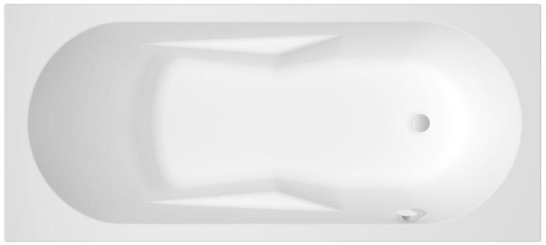 Riho Lazy wanna prostokątna prawa 180x80cm biała BC42