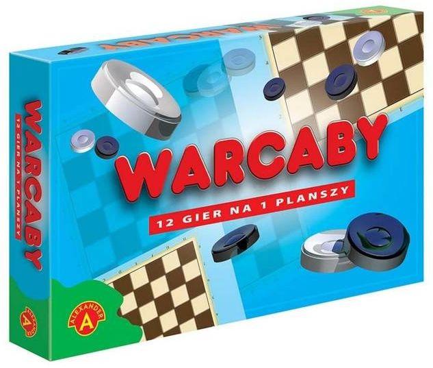 Warcaby 12 gier na planszy ALEX - Alexander