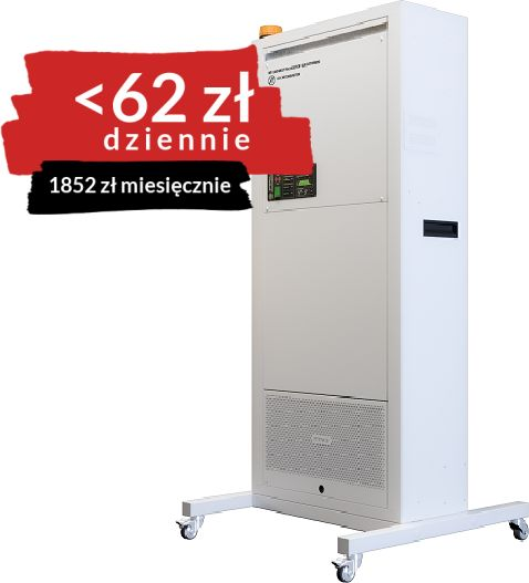 Profesjonalny sterylizator pomieszczeń VS-900 STERYLIS