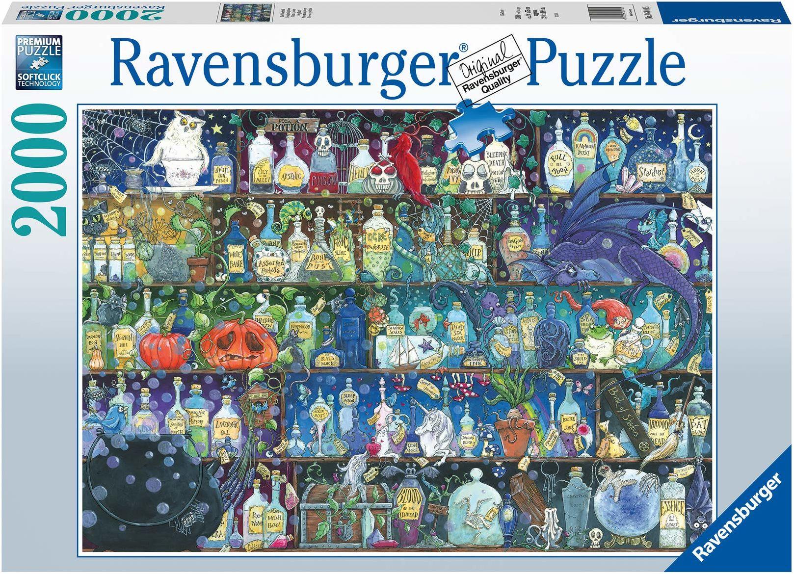 Ravensburger puzzle 2000 części na trampkę, puzzle dla dorosłych i dzieci od 14 lat