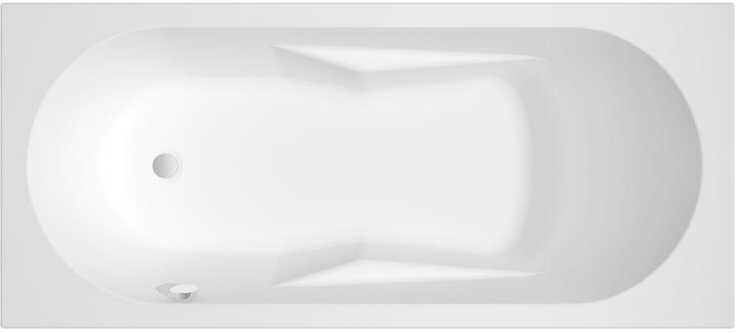 Riho Lazy wanna prostokątna lewa 180x80cm biała BC43