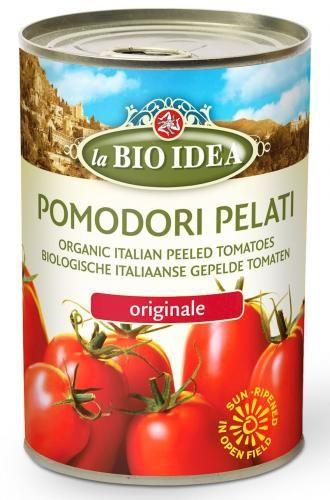 Pomidory pelati bez skóry w puszce BIO 400g La Bio Idea
